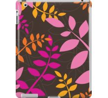 modern leaf pattern 4 iPad Case/Skin