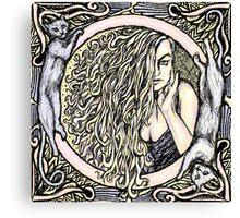 Donna Bella Canvas Print