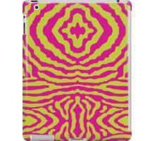 funky zebra pattern 1 iPad Case/Skin