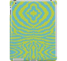 funky zebra pattern 3 iPad Case/Skin