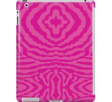 funky zebra pattern 4 iPad Case/Skin
