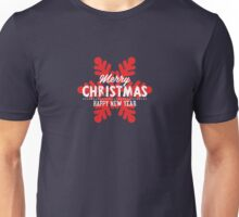 Merry Christmas & Happy New Year Unisex T-Shirt