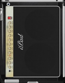 Marshall Guitar Amplifier iPad Case by Alisdair Binning