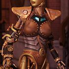 Steampunk Android by Liam Liberty