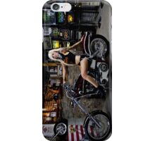 Biker Girl iPhone Case/Skin