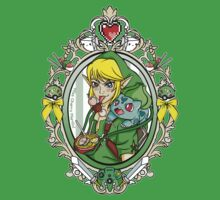 Link and Bulbasaur Tattoo Kids Clothes