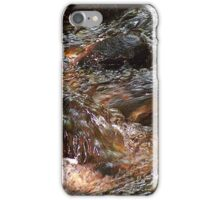Water Flowing Over Rocks iPhone Case/Skin