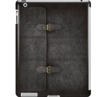 Black Leather Satchel  iPad Case/Skin