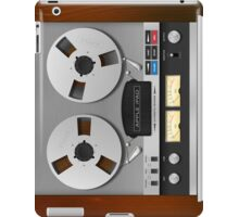 Reel-to-Reel Analogue Tape Recorder iPad Case iPad Case/Skin