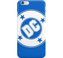 DC COMICS - WHITE iPhone Case/Skin