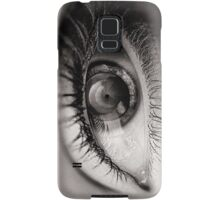 the eye as a lens Samsung Galaxy Case/Skin