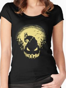 Jack's Nightmare Women's Fitted Scoop T-Shirt