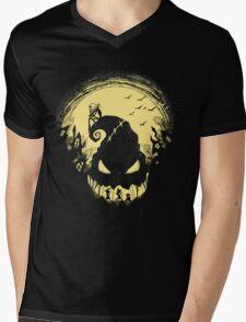 Jack's Nightmare Mens V-Neck T-Shirt