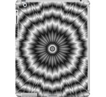 Silver Rosette iPad Case/Skin