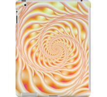 Orange and Yellow Spiral Ladder iPad Case/Skin