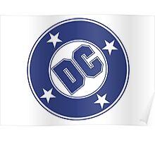 DC COMICS - CLASSIC BLUE LOGO Poster