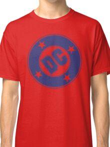 DC COMICS - CLASSIC BLUE LOGO Classic T-Shirt