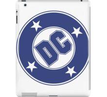 DC COMICS - CLASSIC BLUE LOGO iPad Case/Skin