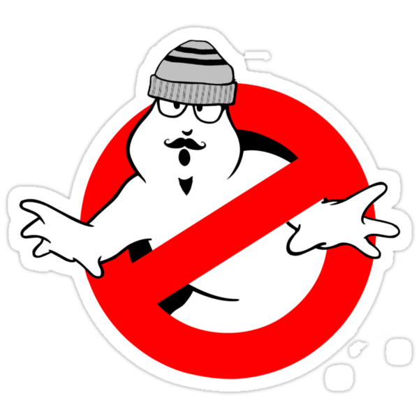 Ghostbusters Hipster Tee by dgoring