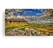 South Head Lightkeepers House Canvas Print
