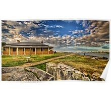 South Head Lightkeepers House Poster