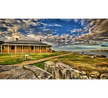 South Head Lightkeepers House Photographic Print
