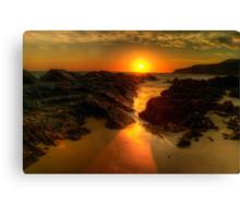Sunrise at Burgess Beach. Canvas Print