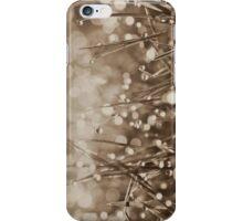 Fairy Drops Sepia iPhone / iPod iPhone Case/Skin