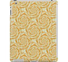 Orange Rose Spiral Tiled iPad Case/Skin