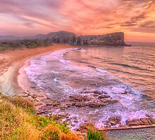 New Day Dawning  #2 - Avalon Beach, Sydney Australia - The HDR Experience by Philip Johnson