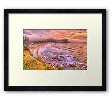 New Day Dawning  #2 - Avalon Beach, Sydney Australia - The HDR Experience Framed Print