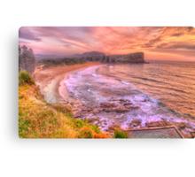 New Day Dawning  #2 - Avalon Beach, Sydney Australia - The HDR Experience Canvas Print