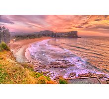 New Day Dawning  #2 - Avalon Beach, Sydney Australia - The HDR Experience Photographic Print