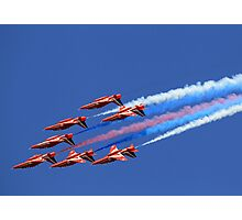 The Red Arrows ~ The Royal Air Force Photographic Print