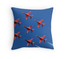 The Red Arrows ~ The Royal Air Force Throw Pillow
