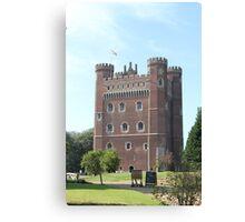 Tattershall Castle, Lincolnshire, England Canvas Print