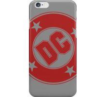 DC COMICS - CLASSIC RED LOGO iPhone Case/Skin