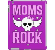 Moms Rock T Shirt iPad Case/Skin