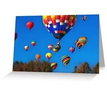 Lift Off , Balloon Festival, Statesville, NC Greeting Card