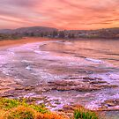 New Day Dawning - Avalon Beach, Sydney Australia - The HDR Experience by Philip Johnson