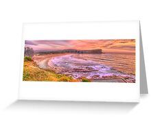 New Day Dawning - Avalon Beach, Sydney Australia - The HDR Experience Greeting Card