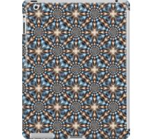 Whirling Dervish in Blue and Brown iPad Case/Skin