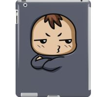 Grumbler Guy iPad Case/Skin