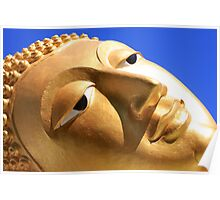 Reclining Buddha from Thailand Poster