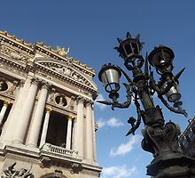Paris lantern outside the Opera by graceloves