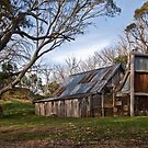 High Country Hut  by mspfoto