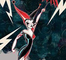 Harley Quinn by Zsuzsa Goodyer