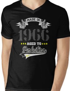 made in 1966-aged to perfection Mens V-Neck T-Shirt