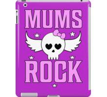 Mums Rock T Shirt iPad Case/Skin