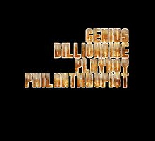 Genius, Billionaire, Playboy, Philanthropist by a745